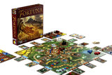 Fortuna - boardgame set up
