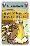Stieren Versieren - De Allesdrinker - bonuskaart voor Stier zoekt Bier
